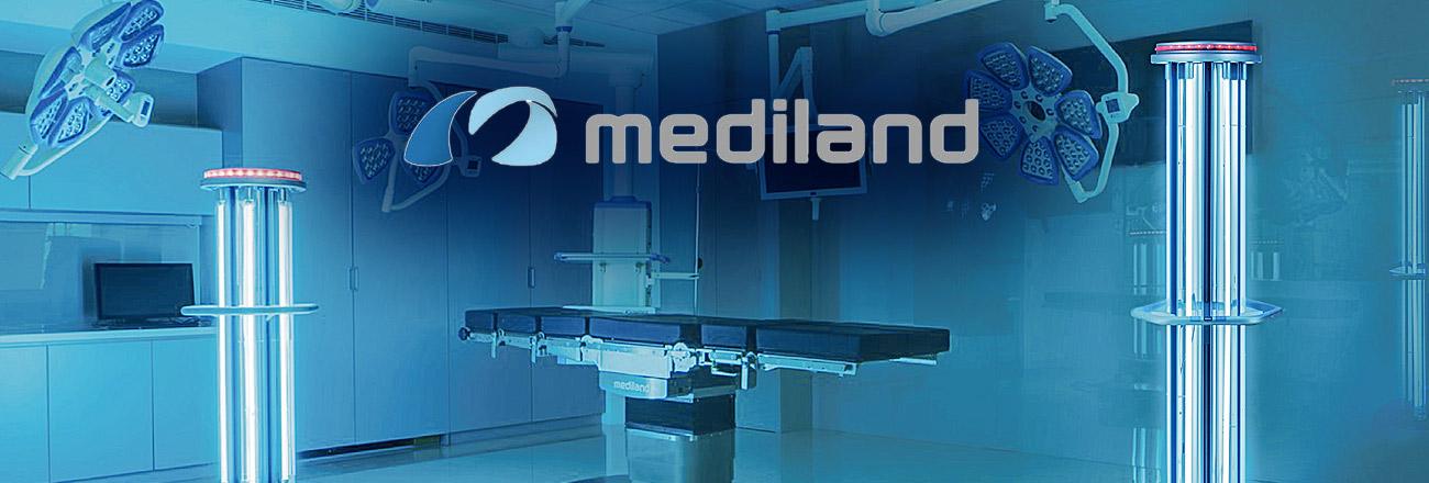 Операционные столы и светильники Mediland